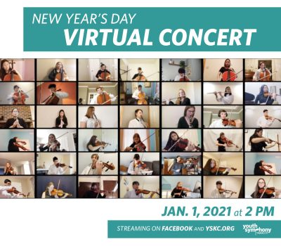VIRTUAL- Youth Symphony's New Year's Day Concert presented by Youth Symphony of Kansas City at Online/Virtual Space, 0 0