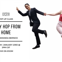 VIRTUAL- Lindy Hop at Home with Amanda Bernice presented by 627 Stomp at Online/Virtual Space, 0 0