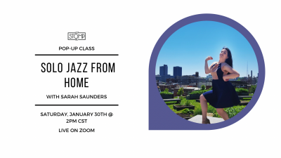 VIRTUAL-Solo Jazz From Home with Sarah Saunders presented by 627 Stomp at Online/Virtual Space, 0 0