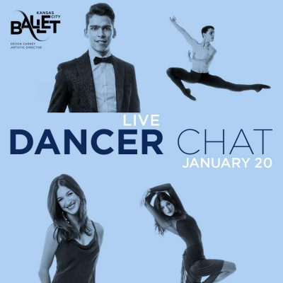 """VIRTUAL – Kansas City Ballet presents """"LIVE Dancer Chat with Consuelo Cruz"""" presented by Kansas City Ballet at Online/Virtual Space, 0 0"""