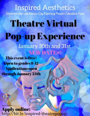 VIRTUAL- Theatre Pop-up Experience presented by Inspired Aesthetics at Online/Virtual Space, 0 0