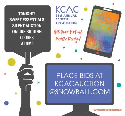 VIRTUAL – Sweet Essentials KCAC Silent Auction presented by Kansas City Artists Coalition at Online/Virtual Space, 0 0