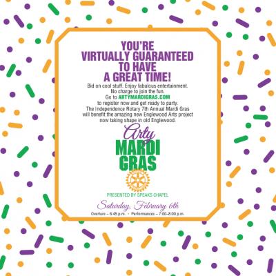 VIRTUAL- Arty Mardi Gras presented by VIRTUAL- Arty Mardi Gras at Online/Virtual Space, 0 0