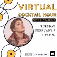 VIRTUAL – Cocktail Hour presented by 627 Stomp at Online/Virtual Space, 0 0