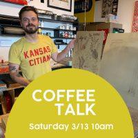 VIRTUAL – COFFEE TALK ft Artist Emmett Merrill presented by Kansas City Artists Coalition at Online/Virtual Space, 0 0