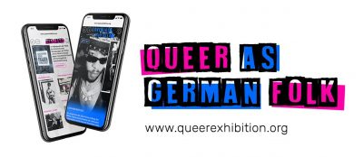 """VIRTUAL – Exhibition: """"Queer As German Folk"""" presented by Goethe Pop Up Kansas City at Online/Virtual Space, 0 0"""