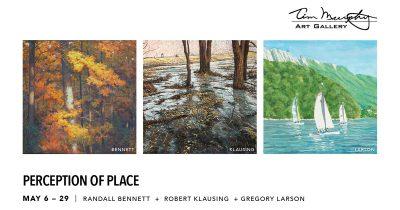 Perception of Place presented by Andrew Gilliatt: Digital Debut at Tim Murphy Art Gallery, Merriam KS