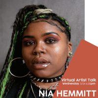 VIRTUAL – Nia Hemmitt Artist Talk presented by Kansas City Artists Coalition at Online/Virtual Space, 0 0