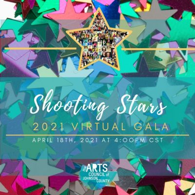 VIRTUAL – 2021 Shooting Stars Gala presented by Arts Council of Johnson County at Online/Virtual Space, 0 0