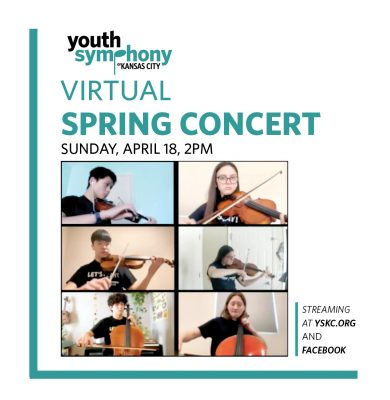 VIRTUAL-Youth Symphony's Spring Concert presented by Youth Symphony of Kansas City at Online/Virtual Space, 0 0