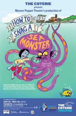 How to Snag a Sea Monster: A Terrifically Tall Tale! presented by The Coterie Theatre at The Coterie Theatre, Kansas City MO