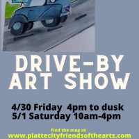 Platte City Drive-by Art Show presented by Platte City Friends of the Arts at ,