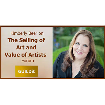 VIRTUAL -The Selling of Art and Value of Artists presented by GUILDit at Online/Virtual Space, 0 0