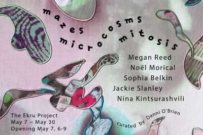 Mazes, Microcosm, Mitosis presented by May Art Exhibition - All My Relations: Phillip Pursel and Sydney Pursel at ,