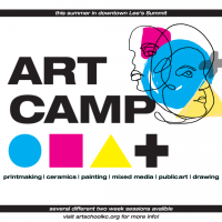 Summer ART CAMP in downtown Lee's Summit presented by Diana Rendell at ,
