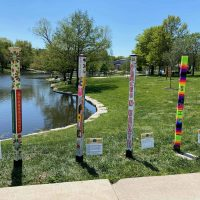 Peace Poles Community Art Project presented by Lenexa Parks & Recreation at ,