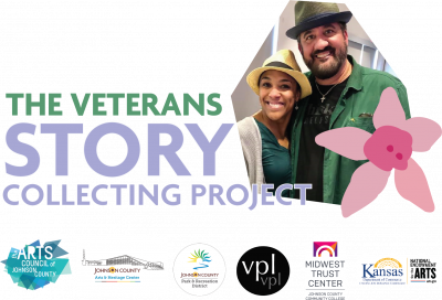 VIRTUAL-Veterans Story Collecting Project presented by Arts Council of Johnson County at Online/Virtual Space, 0 0