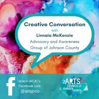 VIRTUAL – Creative Conversation: Linnaia McKenzie (AAGJC) presented by Arts Council of Johnson County at Online/Virtual Space, 0 0