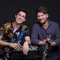 VIRTUAL- Bridge & Wolak: Bach to Benny Goodman presented by Midwest Trust Center at Johnson County Community College at Online/Virtual Space, 0 0