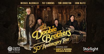 The Doobie Brothers: 50th Anniversary Tour presented by Starlight at Starlight Theatre, Kansas City MO