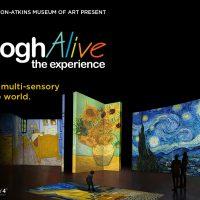 Van Gogh Alive presented by Starlight at Starlight Theatre, Kansas City MO