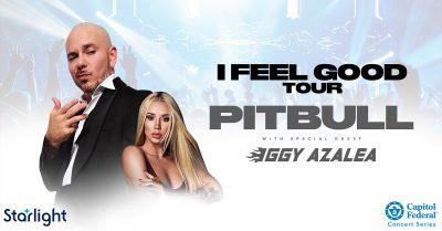 Pitbull with Iggy Azalea presented by Starlight at Starlight Theatre, Kansas City MO