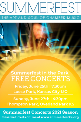 Summerfest in the Park presented by Summerfest Concerts at ,
