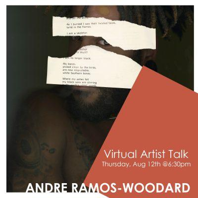 VIRTUAL- Andre Ramos-Woodard Artist Talk presented by Kansas City Artists Coalition at Kansas City Artists Coalition, Kansas City MO