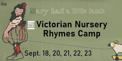Victorian Nursery Rhymes Camp presented by Stitch Camp for Kids @ The Sewing Labs at ,
