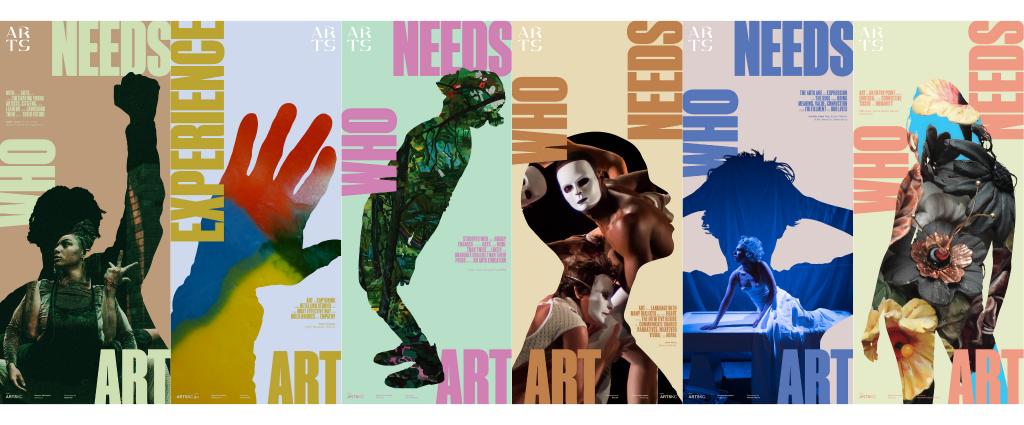 ArtSKC Who Needs Art Campaign