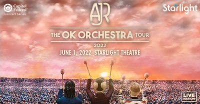 AJR presented by Starlight at Starlight Theatre, Kansas City MO