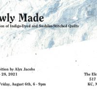 Slowly Made, a solo exhibition by Alyx Jacobs presented by The Ekru Project at ,