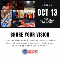 VIRTUAL- Jackson County Arts Community Discussion presented by ArtsKC – Regional Arts Council at Online/Virtual Space, 0 0