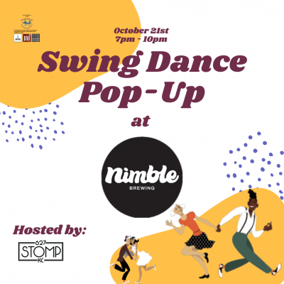 Swing Dance Pop-Up at Nimble Brewing presented by 627 Stomp at ,