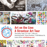 Art on the Line: KC Streetcar Art Tour presented by Art in the Loop at ,