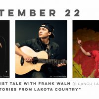 """VIRTUAL-Travois digital artist talk: """"Songs & Stories From Lakota Country"""" by Frank Waln presented by Travois at Online/Virtual Space, 0 0"""
