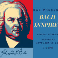 Bach Inspired presented by Bach Aria Soloists at Online/Virtual Space, 0 0
