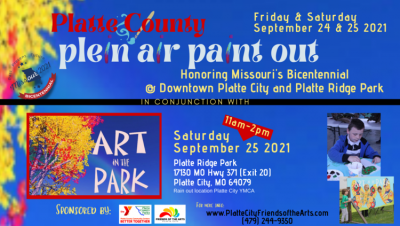 Platte County Art in the Park and Plein Air Paint Out presented by Platte City Friends of the Arts at ,