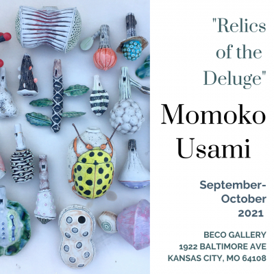 """Momoko Usami """"Relics of the Deluge"""" presented by 2021 Art in the Loop Closing Reception at ,"""