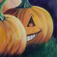 """""""There's One in Every Patch"""" Painting Party presented by Images Art Gallery at ,"""
