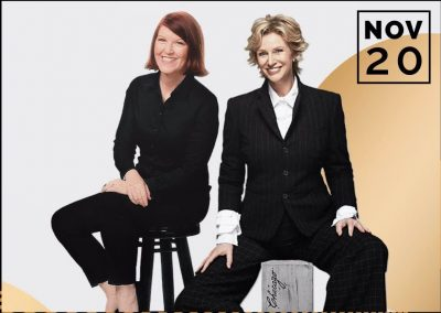 Jane Lynch & Kate Flannery in Two Lost Souls presented by Folly Theater at ,