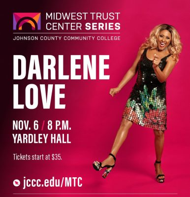 Darlene Love presented by Midwest Trust Center at Johnson County Community College at Midwest Trust Center at Johnson County Community College, Overland Park KS