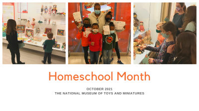 Homeschool Month presented by The National Museum of Toys and Miniatures at The National Museum of Toys and Miniatures, Kansas City MO