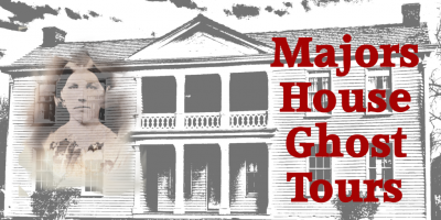 Majors House Ghost Tours (All Ages) presented by Curtis Smith Art/Biz Talk at ,