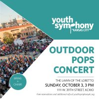 Youth Symphony's Outdoor Pops Concert presented by Youth Symphony of Kansas City at ,