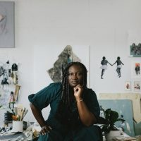 """Lanecia Rouse Tinsley: """"on the bridge between"""" presented by Four Chapter Gallery at Four Chapter Gallery, Kansas City MO"""