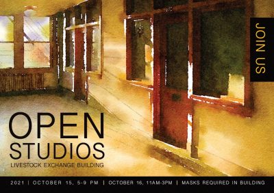 Open Studios at The Livestock Exchange Building presented by Open Studios at The Livestock Exchange Building at ,