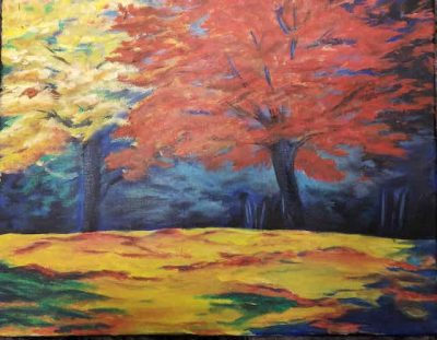 """""""Fall Bright"""" October Paint Party presented by Images Art Gallery at ,"""