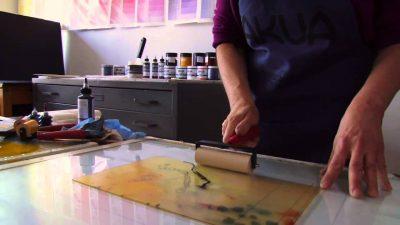 ArtOberfest: Hand Print Press Monotype Workshop presented by Rockhurst University at ,