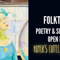 Folk Tales Poetry & Song Open Mic presented by Flying Ketchup Press at ,